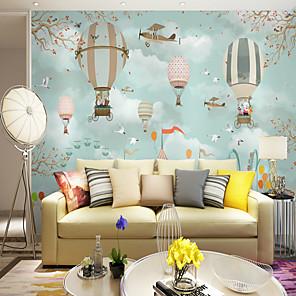 cheap Wallpaper-Wallpaper / Mural / Wall Cloth Canvas Wall Covering - Adhesive required Art Deco / Pattern / Cartoon