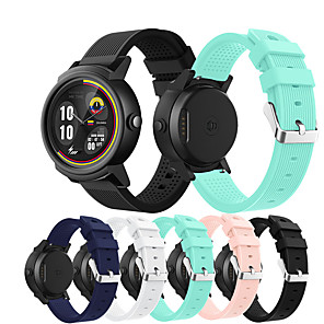 cheap iPhone Screen Protectors-Watch Band for Ticwatch 2 / Ticwatch E TicWatch Sport Band Silicone Wrist Strap