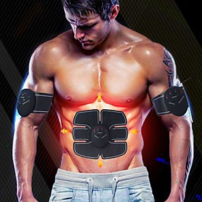 cheap Fitness Gear & Accessories-Abs Stimulator Abdominal Toning Belt EMS Abs Trainer Rechargeable Electronic Muscle Toner Wireless EMS Training Muscle Toning Abdominal Toning Exercise & Fitness Workout Bodybuilding For Men Women