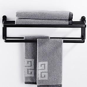 cheap Towel Bars-Towel Bar Premium Design / Cool Contemporary Aluminum 1pc Double Wall Mounted
