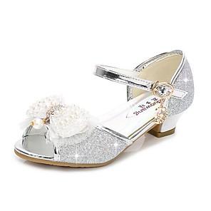 cheap Kids' Sandals-Girls' Flower Girl Shoes Synthetics Sandals Toddler(9m-4ys) / Little Kids(4-7ys) / Big Kids(7years +) Purple / Pink / Gold Summer