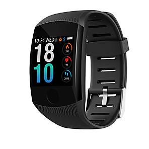 halpa Others-q11 smart watch bt fitness tracker -tuki ilmoittaa & sykemittari kaareva näyttö smartwatch Android-puhelimille ja iphoneille