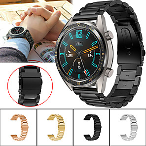 cheap Smartwatch Bands-Watch Band for Huawei Watch GT / Huawei Watch 2 Pro Huawei Sport Band Metal / Stainless Steel Wrist Strap