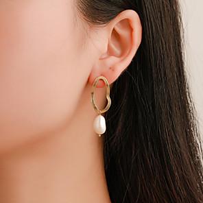 cheap Cycling Jerseys-Women's Earrings Holiday Wedding Birthday Romantic Earrings Jewelry Gold For Date Street Festival 1 Pair