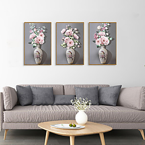 cheap Floral/Botanical Paintings-Framed Art Print Framed Set - Still Life Floral / Botanical PS Illustration Wall Art