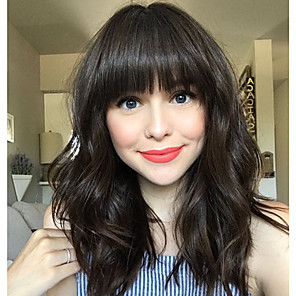cheap Human Hair Capless Wigs-Human Hair Wig Long Curly Body Wave Bob Black Fashionable Design Adjustable Lovely Capless Women's All Natural Black 24 inch / Natural Hairline / African American Wig / Natural Hairline