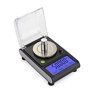 cheap Novelties-0.005g 50g high Precision Lab Laboratory Weight Balance Jewelry Diamond Herbs Grams Gold Digital Electronic Scales