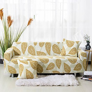 cheap Sofa Cover-Sofa Cover Contemporary Reactive Print Polyester Slipcovers