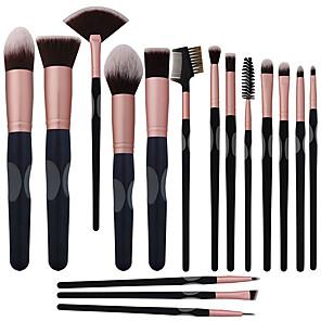 cheap Makeup Brush Sets-Professional Makeup Brushes 16pcs Full Coverage Comfy Artificial Fibre Brush Wooden / Bamboo for Makeup Brush