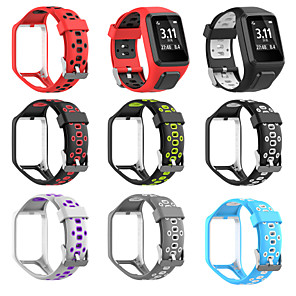 cheap Smartwatch Bands-Silicone Replacement Watchband Wrist Band Strap For TomTom 2 3 Series Runner 2 3 Spark Series Golfer 2 Adventurer GPS Watch