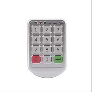 cheap Dial Locks-PW206 Coded Lock Plastic Password unlocking for Door / Gym & Sports Locker
