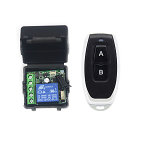 cheap Smart Switch-Smart Switch AK-RK01SY+AK-J027 for Daily / Car Remote Controlled / Multifunction / Easy to Install Remote Wireless 12 V