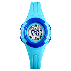cheap Smartwatches-SKMEI®1479 Kids Kids' Watches Android iOS WIFI Waterproof Sports Long Standby Smart Color Gradient Alarm Clock Calendar Dual Time Zones