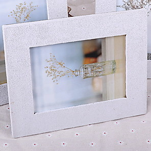 cheap Tabletop Picture Frames-Modern Style Wood Painted Finishes Picture Frames Wall Decorations, 1pc Picture Frames