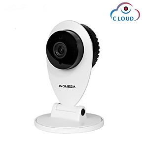 cheap Outdoor IP Network Cameras-INQMEGA 720P Cloud IP Camera Wifi Home Security Mini Camera Wireless Surveillance Night Vision Network CCTV Camera Baby Monitor