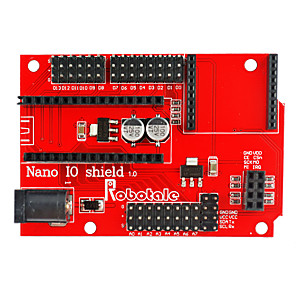 cheap Robots & Accessories-Arduino Nano 328P IO Sensor Wireless Extension Board