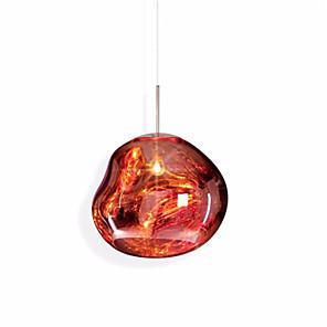 cheap Pendant Lights-1-Light 20 cm Mini Style / New Design / Cool Pendant Light Metal Glass Globe / Mini Electroplated Globe / Modern 110-120V / 220-240V