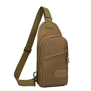 cheap Backpacks & Bags-Daofeng 20 L Hiking Sling Backpack Military Tactical Backpack Multifunctional Breathable Rain Waterproof Fast Dry Outdoor Fishing Hiking Camping Polyester White Black Army Green