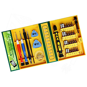 cheap Tool Sets-38 in 1Precision Multipurpose Screwdriver Set Repair Opening Tool Kit Fix For iPhone/ laptop/ smartphone/ watch with Box Case