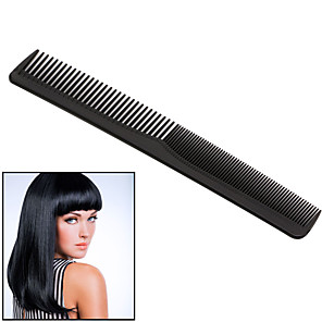 cheap Hair Dryers-1 pc/set Black Professional Combs Hairdressing New Tail Comb Two Anti Static Comb Hair Cutting Comb