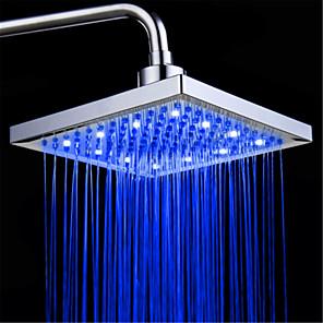 cheap Rain Shower-Contemporary Rain Shower Electroplated Feature - LED / Premium Design / Shower, Shower Head