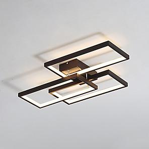 cheap Dimmable Ceiling Lights-1-Light JSGYlights 40 cm Flush Mount Lights Metal Silica gel Geometrical Painted Finishes LED Modern 110-120V 220-240V