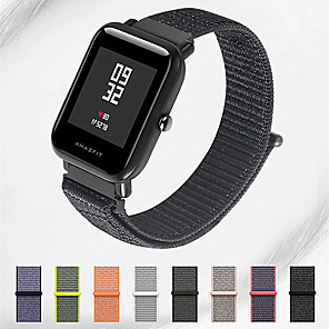 cheap Smartwatch Bands-Watch Band for Huami Amazfit Bip Younth Watch Xiaomi Sport Band Nylon Wrist Strap