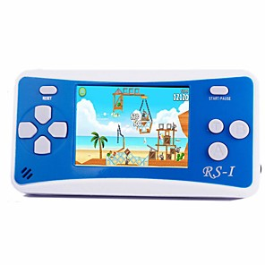 cheap Action Cameras-RS-1 Handheld Game Player for Kids Portable Gaming System Video Game Player 2.5 LCD Built-in 152 Classic Games