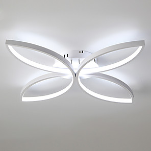 cheap Pendant Lights-1-Light JSGYlights 58 cm New Design Flush Mount Lights Metal Silica gel Sputnik Painted Finishes LED / Modern 110-120V / 220-240V