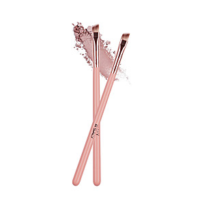 cheap Eyeliner Brushes-Professional Makeup Brushes 2pcs Cute Sexy Lady Synthetic Hair Wooden for Makeup Brush