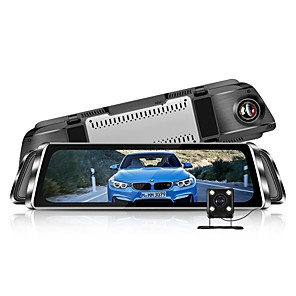 cheap Car DVR-Factory OEM G900 1080p Anti Fog Car DVR 170 Degree Wide Angle 4 inch IPS Dash Cam with Parking Monitoring / Loop recording Car Recorder