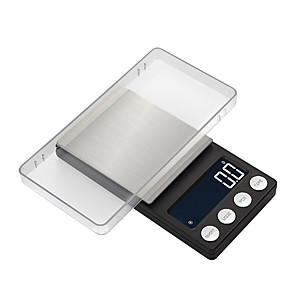 halpa Vaa'at-korkean tarkkuuden tasku-korujen vaa'at saldo 0,05 g-500g kannettava digitaalinen laboratoriopaino gramma-asteikolla