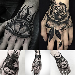 cheap Tattoo Stickers-5 pcs Temporary Tattoos Water Resistant / Best Quality Hand / brachium Tattoo Stickers