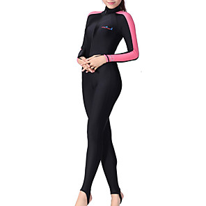 cheap Wetsuits, Diving Suits & Rash Guard Shirts-Dive&Sail Women's Rash Guard Dive Skin Suit Diving Suit Breathable Quick Dry Anatomic Design Long Sleeve Swimming Diving Classic Spring Summer Fall / Winter / Stretchy