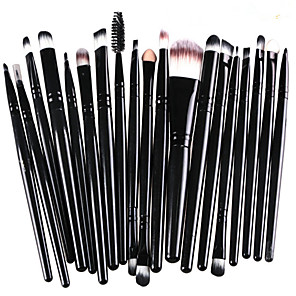 cheap Makeup Brush Sets-Professional Makeup Brushes 20pcs Full Coverage Comfy Artificial Fibre Brush Wooden / Bamboo for Makeup Brush