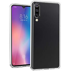 cheap Xiaomi Case-Case For Xiaomi Xiaomi Mi 9 / Xiaomi Mi 9 SE Ultra-thin / Transparent Back Cover Transparent Soft TPU