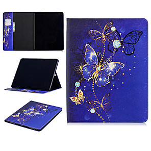 cheap iPad case-Case For Apple iPad Pro 11'' with Stand / Card Holder Full Body Cases Animal / Cartoon Hard PU Leather for iPad Pro 11''