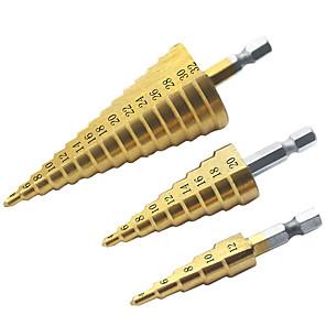 cheap Novelties-4241 High Speed Steel Hex Drill Bit Hex Drill Material Pagoda Drill Bit Drill Bit Opener Hole 4-12 4-20