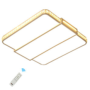 cheap Indoor Wall Lights-1-Light UMEI™ 42 cm Mini Style / Creative / Adjustable Flush Mount Lights Metal Acrylic Geometrical Painted Finishes LED / Modern 110-120V / 220-240V / FCC