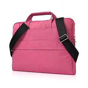 cheap Mac Accessories-Notebook Handbag Shoulder Bag Multi-function Large Capacity For 11/12/13/15 Inch Laptop