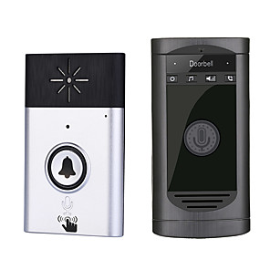 cheap Video Door Phone Systems-H6S WIFI / Wireless ≤3 inch Telephone One to One video doorphone