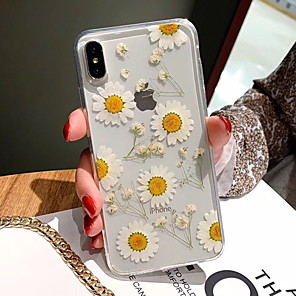 cheap iPhone Cases-Case For Apple iPhone XS / iPhone XR / iPhone XS Max Pattern Back Cover Flower Soft TPU