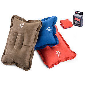 cheap Sleeping Bags & Camp Bedding-Naturehike Camping Travel Pillow Camping Pillow Outdoor Camping Portable Mini Inflatable Ultra Light (UL) Polyester ABS 42*28*12 cm for Camping / Hiking Traveling Outdoor Autumn / Fall Spring Summer