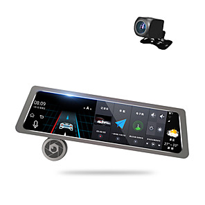 cheap Car DVD Players-Factory OEM D10 1080p Car DVR 170 Degree Wide Angle 10 inch Dash Cam with GPS / Parking Monitoring / Loop recording Car Recorder