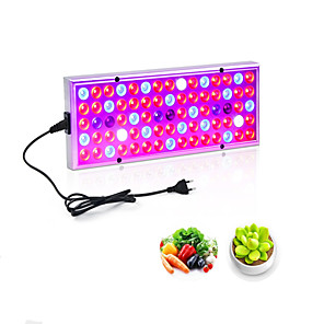 cheap Plant Growing Lights-Grow Light LED Plant Growing Light LED Grow Light Plant Grow Full Spectrum 25W 850 lm 75 LED Beads Growing Light Fixture Vegetable Greenhouse