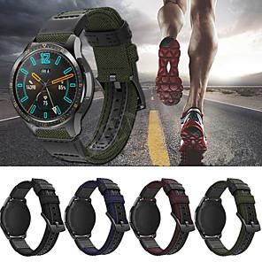 cheap Smartwatch Bands-Watch Band for Huawei Watch GT / Huawei Watch 2 Pro Huawei Sport Band Leather / Nylon Wrist Strap