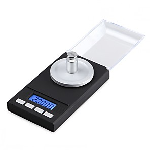 cheap Weighing Scales-0.005g-100g Digital Precision Electronic Scale Laboratory Medical Balance LCD Display Portable Jewelry Scales Gram Weight Scale
