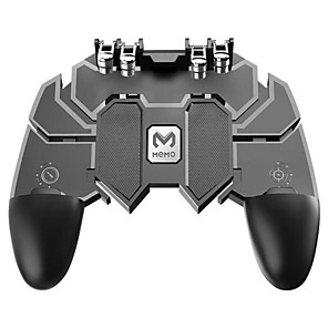 cheap CCTV Cameras-Fingers Trigger Gamepad Shooter Joystick Gamer Joystick Gamer Controller with for PUBG Smartphone Phone Control