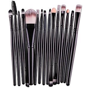 cheap Makeup Brush Sets-Professional Makeup Brushes 15pcs Full Coverage Comfy Artificial Fibre Brush Wooden / Bamboo for Makeup Brush