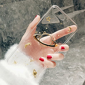 cheap iPhone Cases-Case For Apple iPhone XR / iPhone XS Max / iPhone X Pattern Back Cover Transparent Soft Silicone